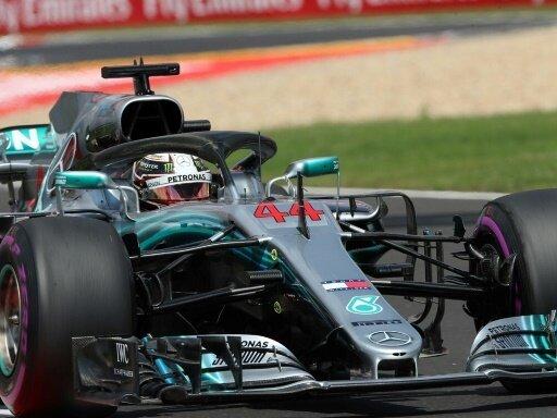Lewis Hamilton entscheidet das Qualifying für sich