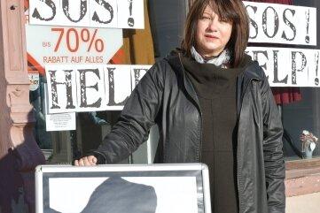 """Modeladen-Inhaberin Aneta Przybyla: """"Wir haben im Dezember Soforthilfe beantragt, aber noch keine erhalten. Allen sollte bewusst sein: Wir brauchen Unterstützung."""""""