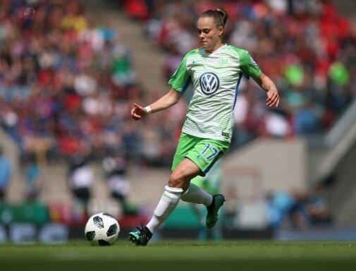 Ewa Pajor erzielte einen Dreierpack gegen Bayern München
