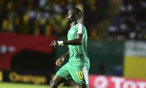 Sadio Mane verletzte sich beim Spiel gegen den Sudan