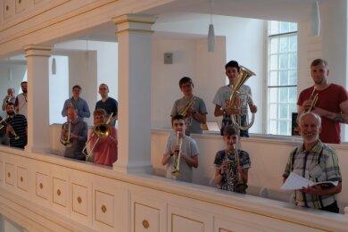 Auftritte in voller Besetzung sind für den Posaunenchor der evangelischen Kirche Thalheim wegen der Corona-Hygieneregeln derzeit nicht möglich.