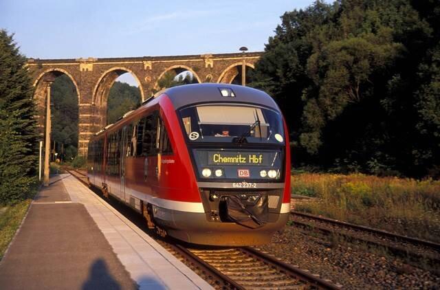 Ein Zug der Baureihe 642. Die Erzgebirgsbahn hat 16 davon, 13 sollen umgerüstet werden.