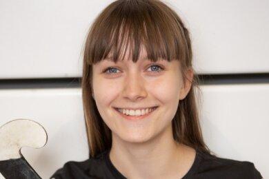 Auch ohne ein Pflichtspiel absolviert zu haben, fühlt sich HockeyspielerinAnna Lippmann beim SV Motor Meerane schon sichtlich wohl. Ins Team ist sie bereits bestens integriert.