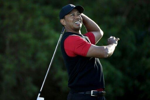 Zufrieden: Tiger Woods