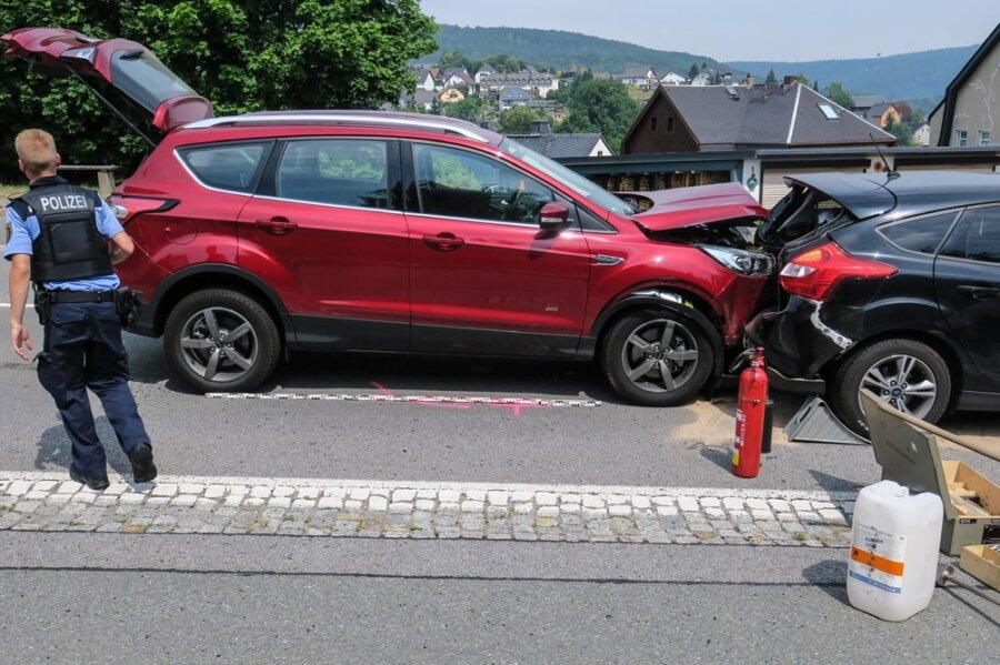 Lauter: Sechs Verletzte bei Auffahrunfall