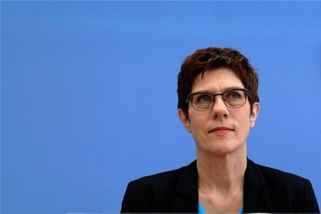 Annegret Kramp-Karrenbauer - CDU-Vorsitzende