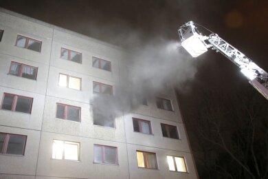 Das Feuer wurde im Januar gelegt. Eine Person wurde dabei verletzt.