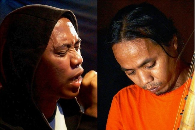 Rully Shabara (li.) und Wukir Suryadi bilden das indonesische Duo Senyawa, dessen neuestes Album auch in Chemnitz verlegt wird.