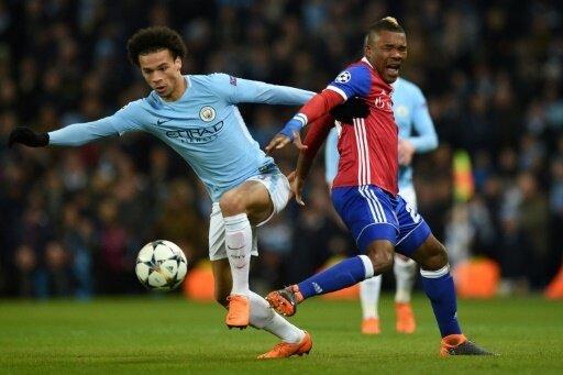 Viertelfinale erreicht: Leroy Sane und Manchester City