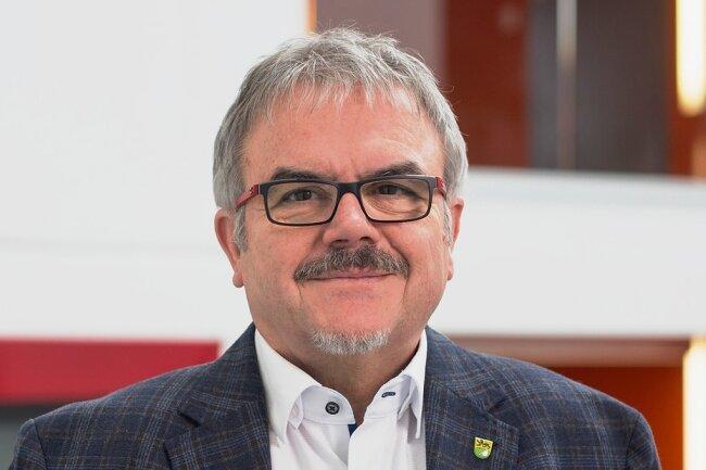 Frank Vogel - Erzgebirgslandrat und Präsident des Kreissportbunds