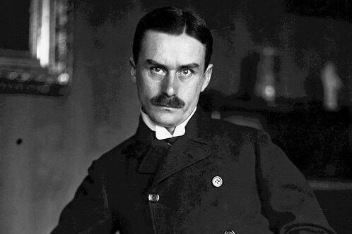 Thomas Mann in einer Aufnahme aus dem 1906.