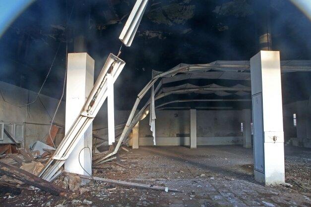 Der Ballsaal galt schon lange als einsturzgefährdet.