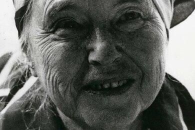 In Liebe zum Einfachen: Schriftstellerin Anna Seghers im November 1980 in der DDR.