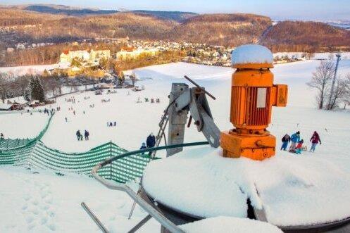 Skiclub Falkenau appelliert  an Hang-Besucher