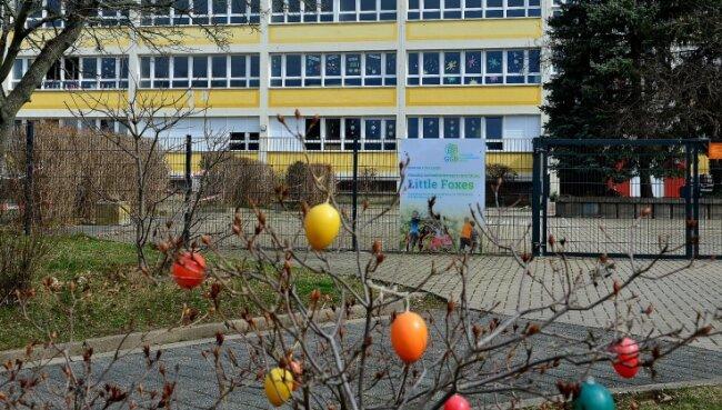 """In das Haus der Fremdsprachen-Kita """"Little Foxes"""" in Frankenberg soll nun noch eine englischsprachige Grundschule einziehen. Träger ist die SaxonyInternational School gGmbH aus Glauchau."""
