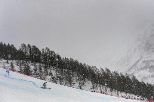 Der Wind in Val d'Isere ließ keinen Wettkampf zu