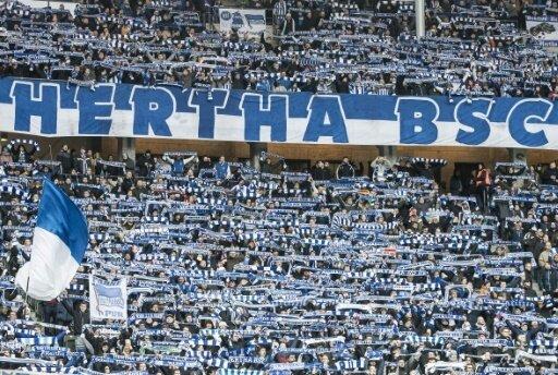 Anhänger der Hertha sorgten für Ärger in der Bahn
