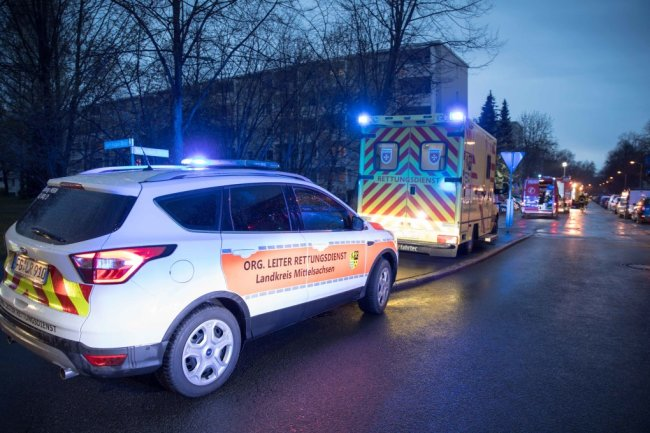 Die Rettungskräfte waren mit einem Großaufgebot vor Ort.