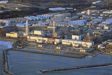 Noch immer glühen die Reaktoren im am 11. März 2011 havarierten Atomkraftwerk von Fukushima und müssen gekühlt werden. Das kontaminierte Wasser wird anschließend in hunderten Containern gelagert, die hier zu sehen sind. Japans Regierung will das Wasser in den Ozean leiten. Die gesundheitlichen Risiken solch eines Schrittes sind ungewiss.