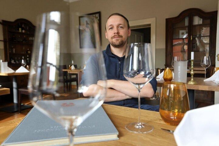 """Christian Weidt, Chef des """"Schönburger Palais"""" und preisgekrönter Koch, hofft, dass eine zweite Schließung wegen Corona ausbleibt."""