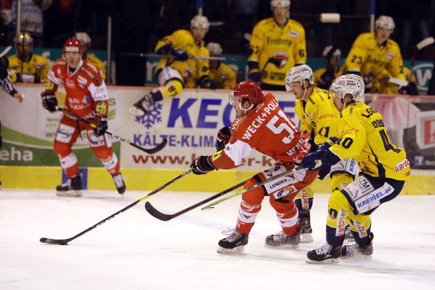 Eispiraten punkten nach fünf sieglosen Spielen wieder