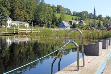 Das Ökobad in Rechenberg schließt an diesem Mittwoch seine Türen.