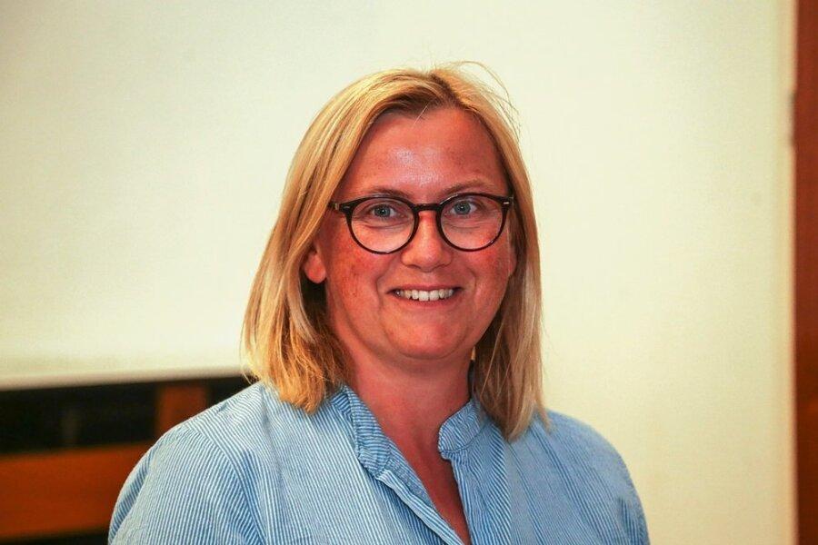 Kerstin Richter, zweite Vize-Bürgermeisterin von Mühlau in Mittelsachsen.