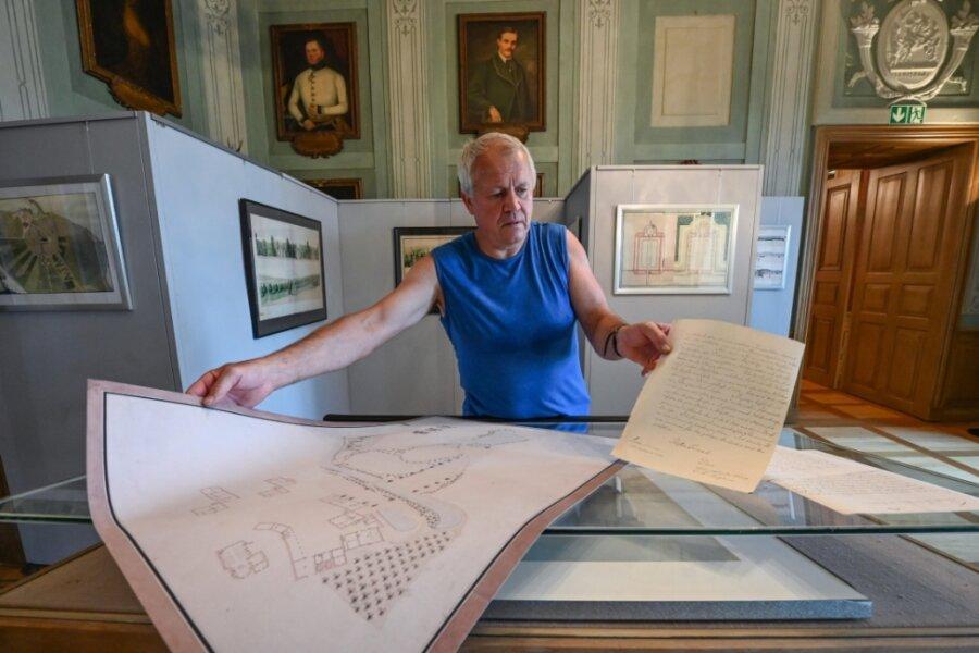 Neue Ausstellung über sächsischen Hofbaumeister im Schloss Wolkenburg