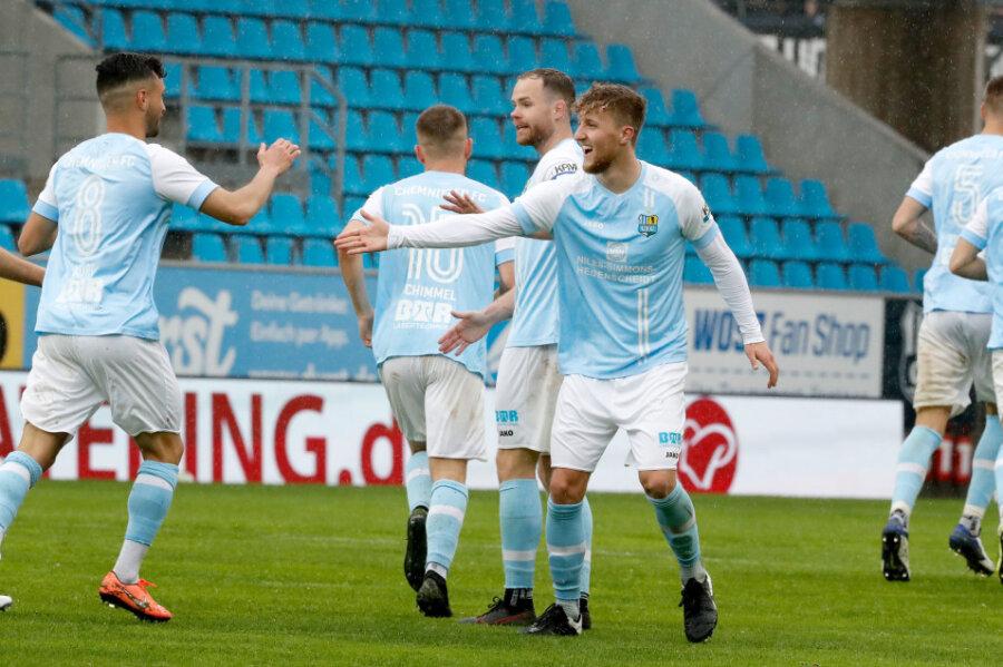 Chemnitzer FC steht im Finale um den Sachsenpokal