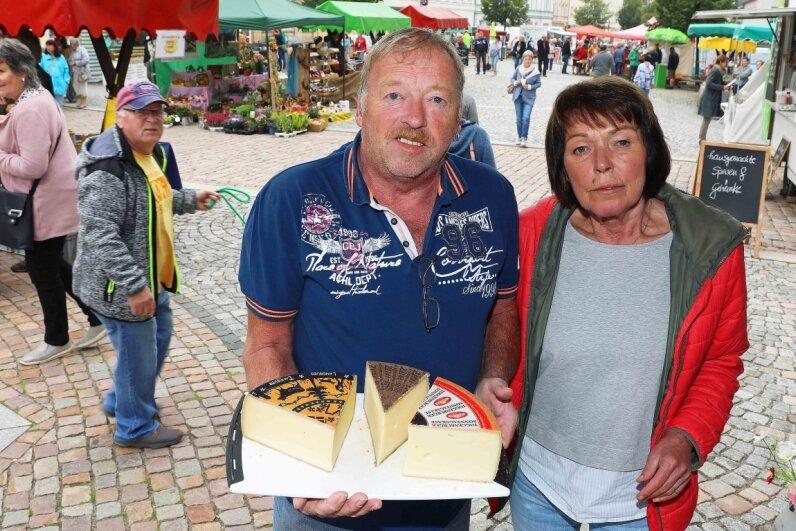Schweizer Käse im Sortiment