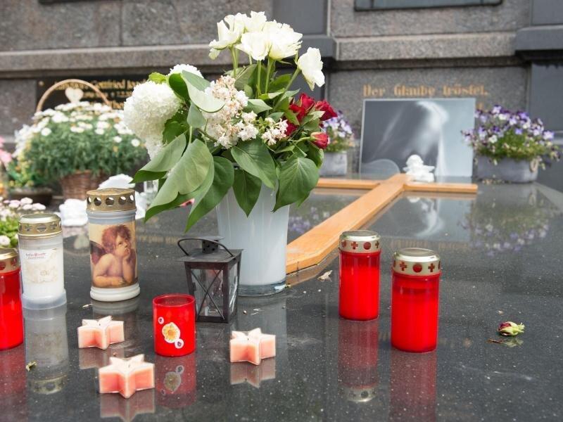 Das Grab der ermordeten Anneli.