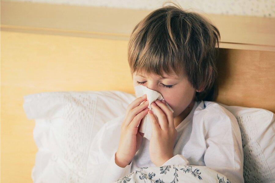 Erkältungswelle rollt früher als sonst durch Sachsens Kitas