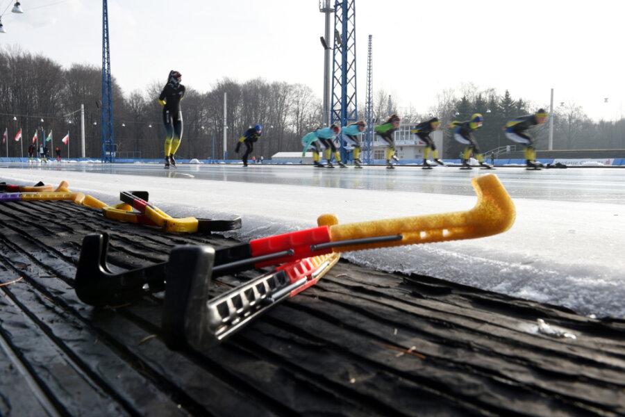 Eis auf Freiluftbahn erst nächsten Winter