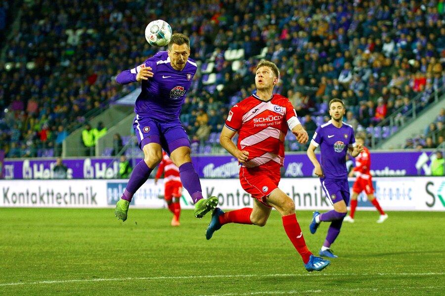 Aue und Bielefeld trennen sich torlos