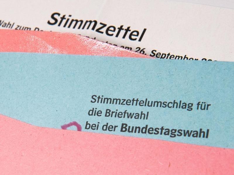 3,3 Millionen Menschen in Sachsen können mit über die Besetzung des neuen Bundestags bestimmen.