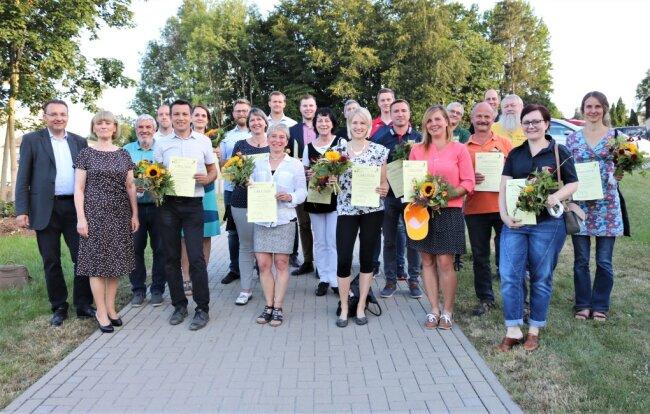 Beim Ideenwettbewerb waren 22 Vereine aus dem Erzgebirgskreis dabei.