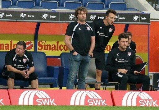 Pleite für Uerdingen und Trainer Stefan Krämer (l.)