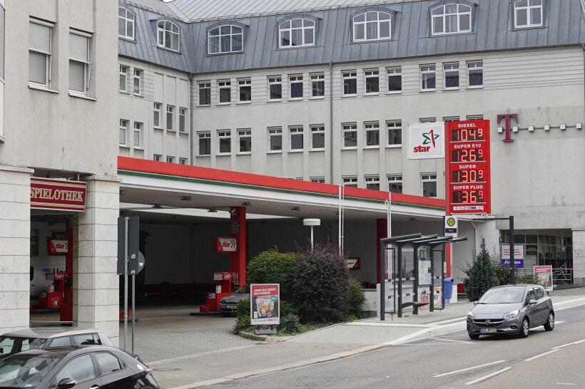 Tankstellenüberfall in Chemnitz