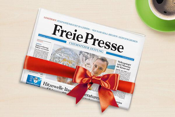 Ihre Zeitung als Geschenk