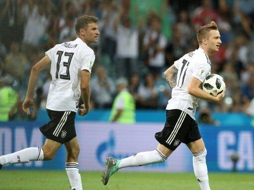 Deutschland feiert 2:1-Erfolg gegen Schweden