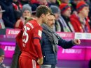 70. Minute: Kovac bringt Nationalspieler Thomas Müller