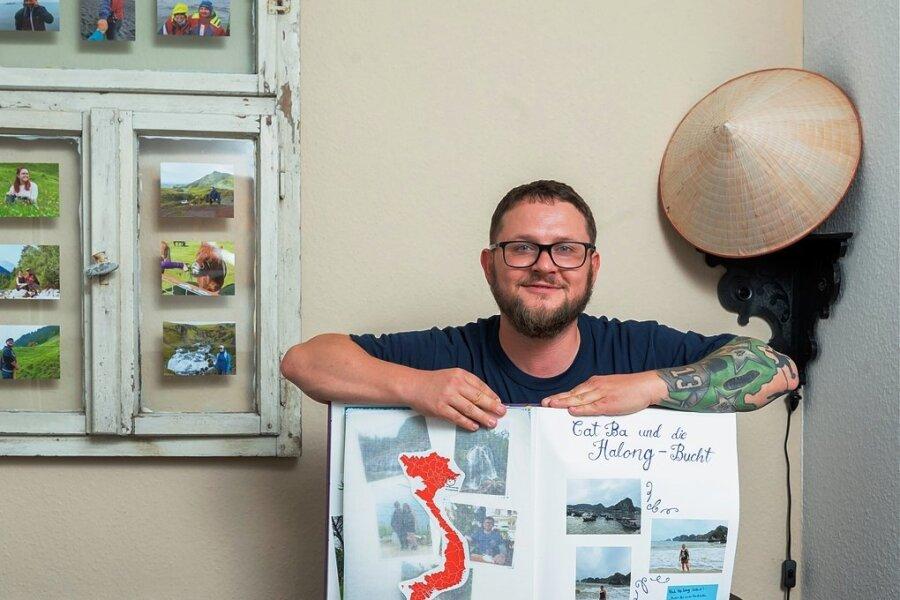 Erinnerungen an seine mehrwöchige Reise nach Asien hat Jeffrey Barwisch aus Dresden auf Fotos gebannt.