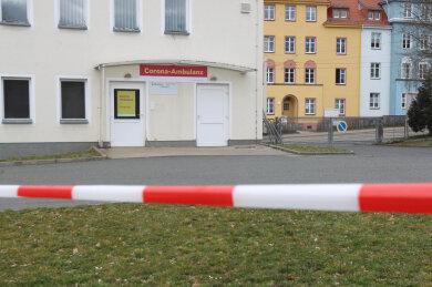 Wer zur Corona-Ambulanz in Plauen will, der muss ganz klare Regeln beachten.
