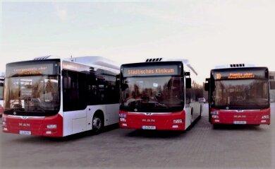 Die Busse und Straßenbahnen auf den Linien der SVZ in zwickau verkehren ab Montag nach dem Ferienfahrplan.
