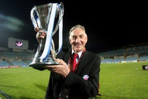 Feierte den Gewinn der Champions League: Bernd Schröder