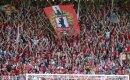Unions Fans zündeten gegen Sandhausen Rauchtöpfe