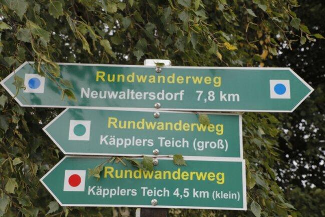 Der Ort des Geschehens an der S 201 liegt an einem Rundwanderweg.