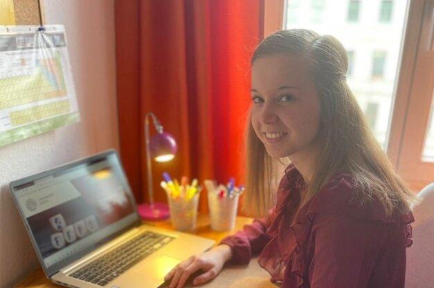 Julia Arsenic studiert in Leipzig Pharmazie. Coronabedingt heißt das: digitale Lehre ohne Kontakte. Man brauche schon viel Disziplin.