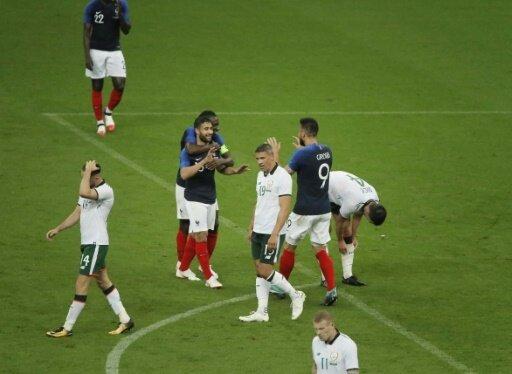 Frankreich ohne Probleme gegen Irland