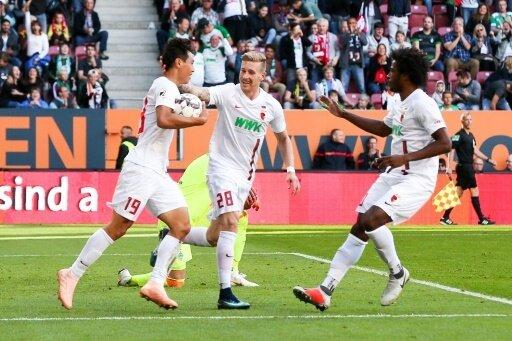 Augsburger jubeln zuhause über einen 4:1-Sieg